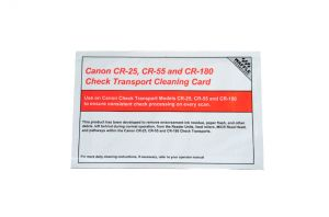 Canon Transport Cleaning Card featuring Waffletechnology