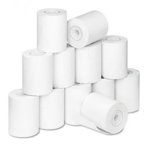 "2-5/16"" white thermal roll"