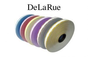 De La Rue Currency Strapping Rolls