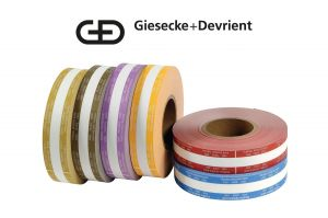 Giesecke & Devrient (G&D) Currency Strapping Rolls