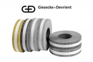 Giesecke & Devrient (G&D) Currency Strapping Rolls,  $10,000 Hundreds