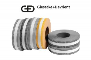 Giesecke & Devrient (G&D) Currency Strapping Rolls, $1,000 Tens