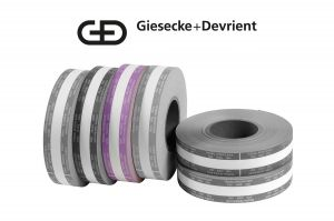 Giesecke & Devrient (G&D) Currency Strapping Rolls, $2,000 Twenties
